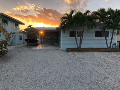 Photo for Beautiful  Cottage in Islamorada on canal front! Wifi, Cable TV and No Stairs!