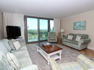 Photo for Perdido Towers East 104- Beach Front View from Terrace and Updated Interior!