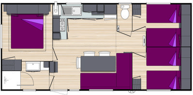 Photo for mobile home rents 2010 of 3 bedrooms 32 m2 to 200 m2 location quiet