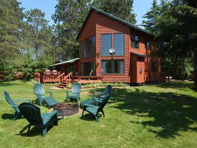 Photo for 4 Bedroom Chippewa Flowage Vacation Home Rental