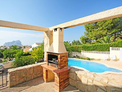 Photo for Vacation home Villa Imbecasa in Calpe/Calp - 6 persons, 3 bedrooms