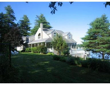 Photo for Charming secluded waterfront home located on private 400 acres Stiles Lake