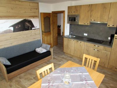Photo for App. Heublume / 1 bedroom / shower, WC, shortstay 1 - Studlerhof Hörtnagl