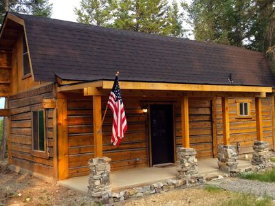 Photo for Cedar Cabin in Montana.  Minutes from adventure yet close to town!