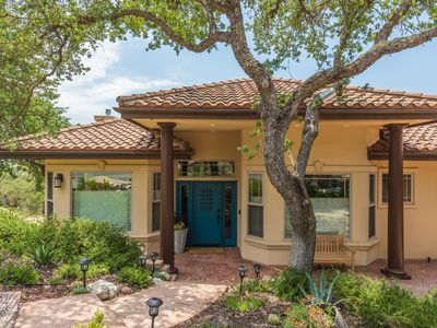 Photo for Hilltop Hacienda - Luxe 5BR+2Nooks/4.5BA - Downtown Paso with incredible views!