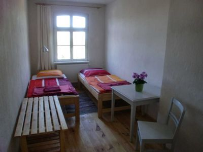 """Photo for Twin room No. 3 - Pension """"Pasterhof Eichhorst"""""""