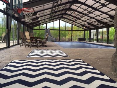 Photo for Huge Year Round SunRoom, Basketball, Play-Set, Volleyball, Patio, Pool Table