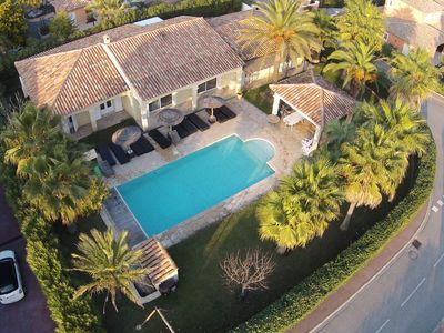 Photo for Luxurious recent villa, at ground level, great amenities, 14 people