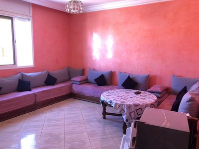 Photo for Nice apartment 5 min walk from the beach.