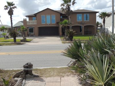 Photo for Oceanfront Home with a two car garage