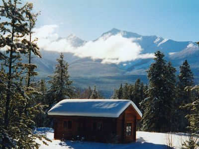 Photo for Mica Mountain Lodge & Pine cabin, at Mt Robson Provincial Park, near Jasper National Park