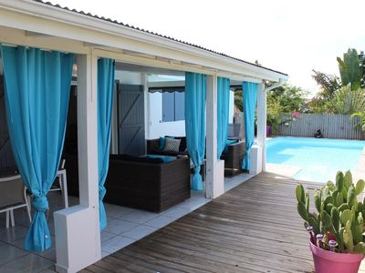 Photo for Villa Turquoise - Villa 7 people with swimming pool located 150m from the beach