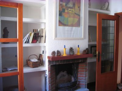 Photo for Cozy and cozy apartment with pool and views of the Sierra Abantos-Madrid