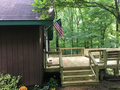 Photo for ATypical Cabin in Clifftops (VRBO #891120) family & pet friendly