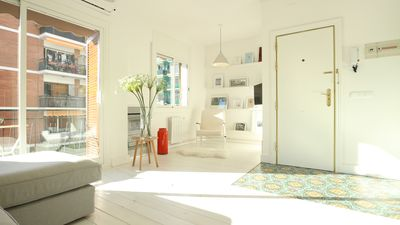 Photo for Bright Apartment, Central Location in Sitges