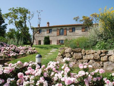 Photo for 7 bedroom Villa, sleeps 14 in Ville di Corsano with Pool, Air Con and WiFi