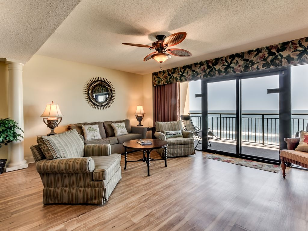 Luxury 3 bedroom w oceanfront master available by - 5 bedroom condos in myrtle beach sc ...