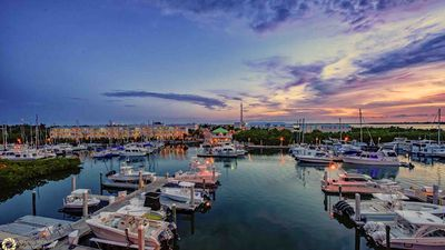 Photo for << GOLDEN HOUR @ SUNSET MARINA >> Bayfront Condo w/ Community Pool + LAST KEY SERVICES…