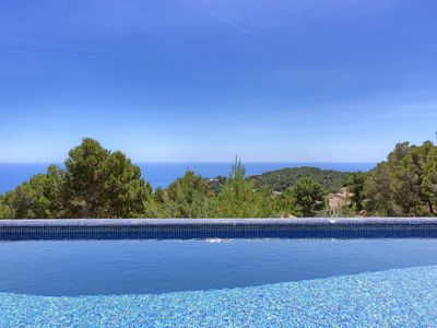 Photo for LES TINTORERES - villa with sea views and private pool-Tamariu-Costa Brava
