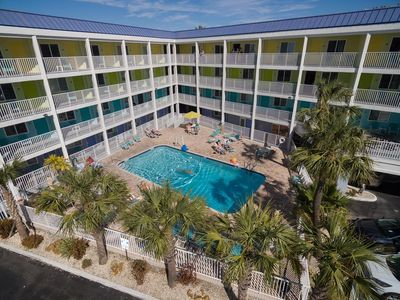Photo for Pelican Pointe Condo/Hotel Unit #124 Affordable Efficiency in the Heart of Clearwater Beach!