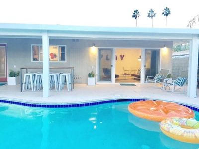 Photo for Trendy Mid-Cent w/ Pool, Central to Palm Springs / Rancho Mirage / Coachella