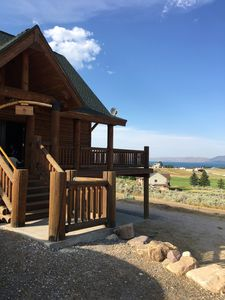 Photo for Dreamy Log Cabin in Bear Lake. Spectacular Views, Great Location, Quiet Getaway.