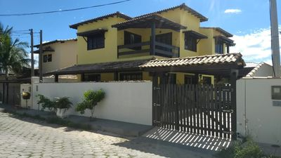 Photo for House in Cabo Frio 4 Bedrooms with swimming pool in the Condominium of the Birds.