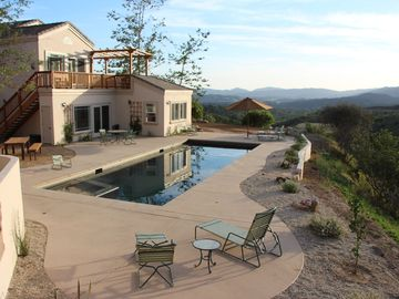 Stunning views with pool and spa on 5 acres