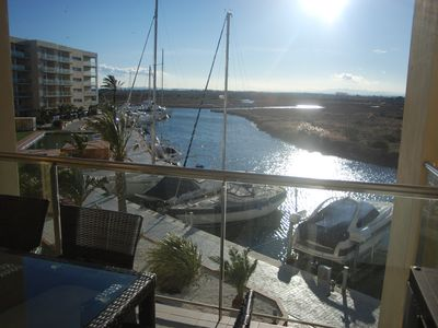 Photo for Stunning Views ON THE PYRENEES AND MARINA.