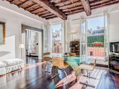 Photo for Luxury Spanish Steps Terrace