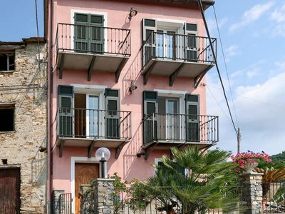 Photo for Vacation home Casa Marco  in Colle San Bartolomeo, Liguria: Riviera Ponente - 4 persons, 2 bedrooms