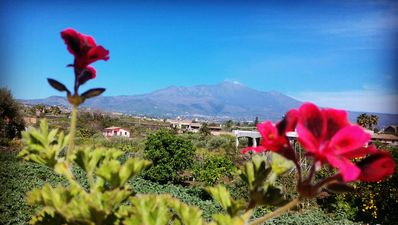 Photo for Between Taormina and Catania wonderful house with views of Mount Etna