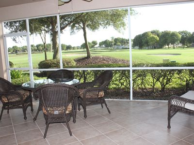 Photo for First floor coach  home with golf course view in Lely Resort