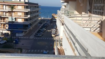 Photo for apartment sea view 3 bedrooms spain valence sector