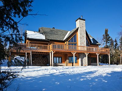 Photo for Coeur de Bois - Luxury Chalet in Charlevoix, Unesco Reserve  World Biosphere