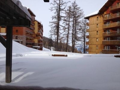 Photo for 17Beautiful studio for 9 people maximum - 30m² - At the ski slopes – Wifi