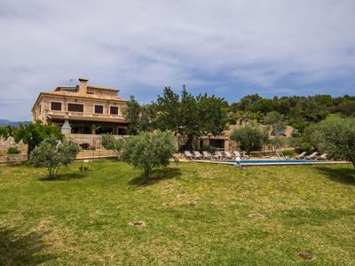 Photo for Wonderful private villa for 14 guests with WIFI, private pool, hot tub, TV, balcony and parking