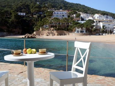 Photo for 2 bedroom Apartment, sleeps 6 in Tamariu with Pool, Air Con and WiFi