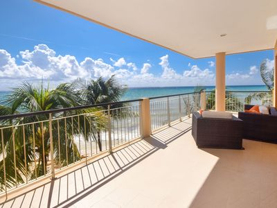 Photo for True Oceanfront End Unit Condo, Directly on the Ocean!  Perfect View (EFS309)