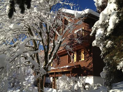 Photo for Romantic chalet with piano in the most beautyful skiing area of Gruyère