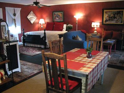 Photo for Apartment A, A  Quaint Bed and Breakfast Cottage