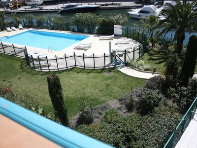 Photo for Stylish 2 Bedroom poolside  Apartments  Port Grimaud/ Bay  St Tropez