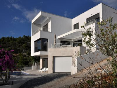 Photo for SPECTACULAR, BRAND NEW LUXURY VILLA WITH HEATED POOL