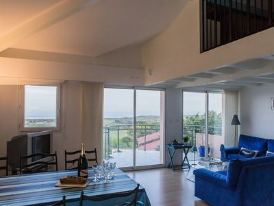 Photo for Anglet ⎜Between Golf and Ocean · Ocean view apartment w/ several patios