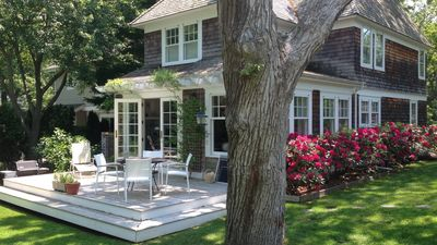 Photo for New Listing: Renovated, Victorian-Style Home in Sag Harbor, Al Fresco Patio, 5 Min. Walk to Main St.