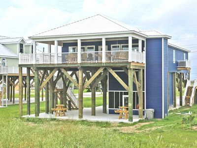 Photo for Family Tides - New Beachfront 4 Bdr/4.5 Bath w/ Golf Cart Rental Opt