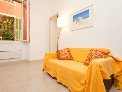Photo for Wonderful apartment in the heart of Nice, air conditioning 50 mt from the sea, free wifi