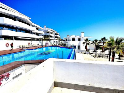 Photo for Beautiful Penthouse with  private pool, jacuzzi and 10 mins walk from the beach