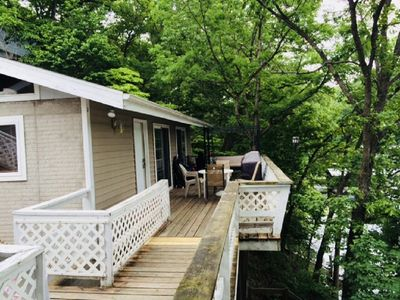 Photo for Cute Lakefront Duplex $300 per night off season Mon-Thursday last minute deal!