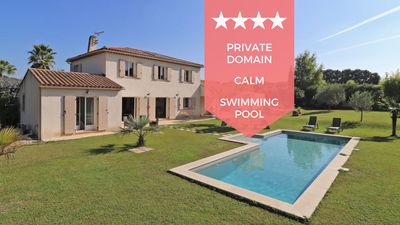 Photo for ❤️ Villa with swimming pool, in a private estate absolute peace and quiet ❤